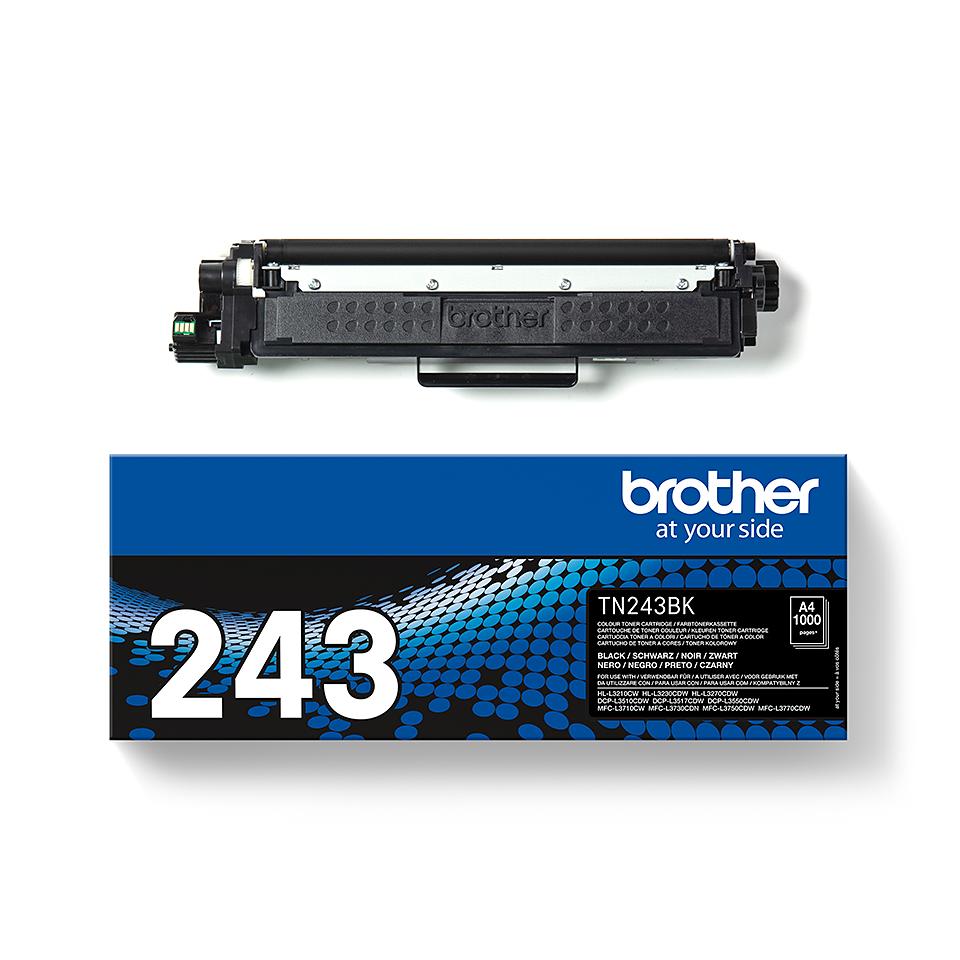 Brother TN243BK original tonerkassett- svart 3