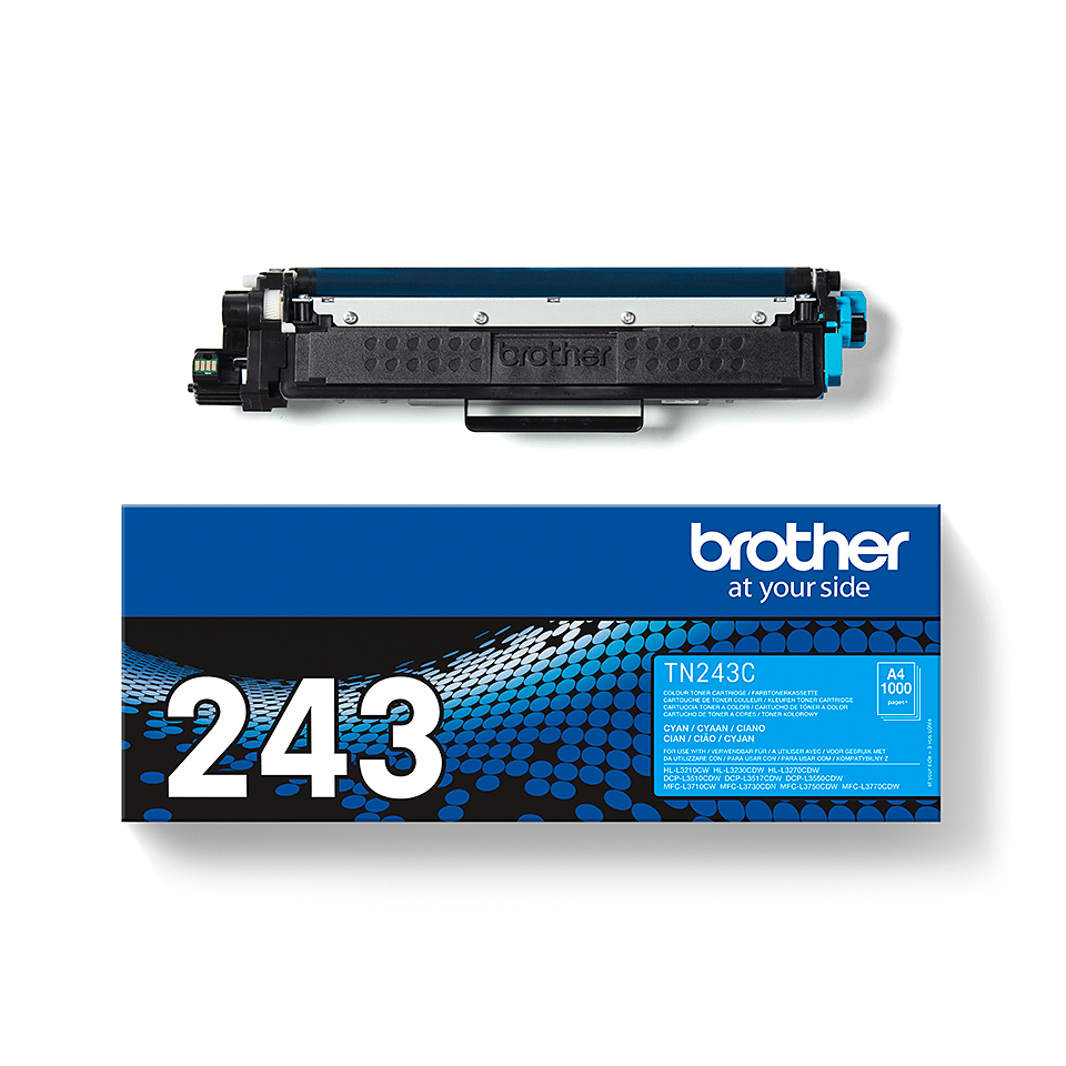Brother TN243C  original tonerkassett - Cyan 3