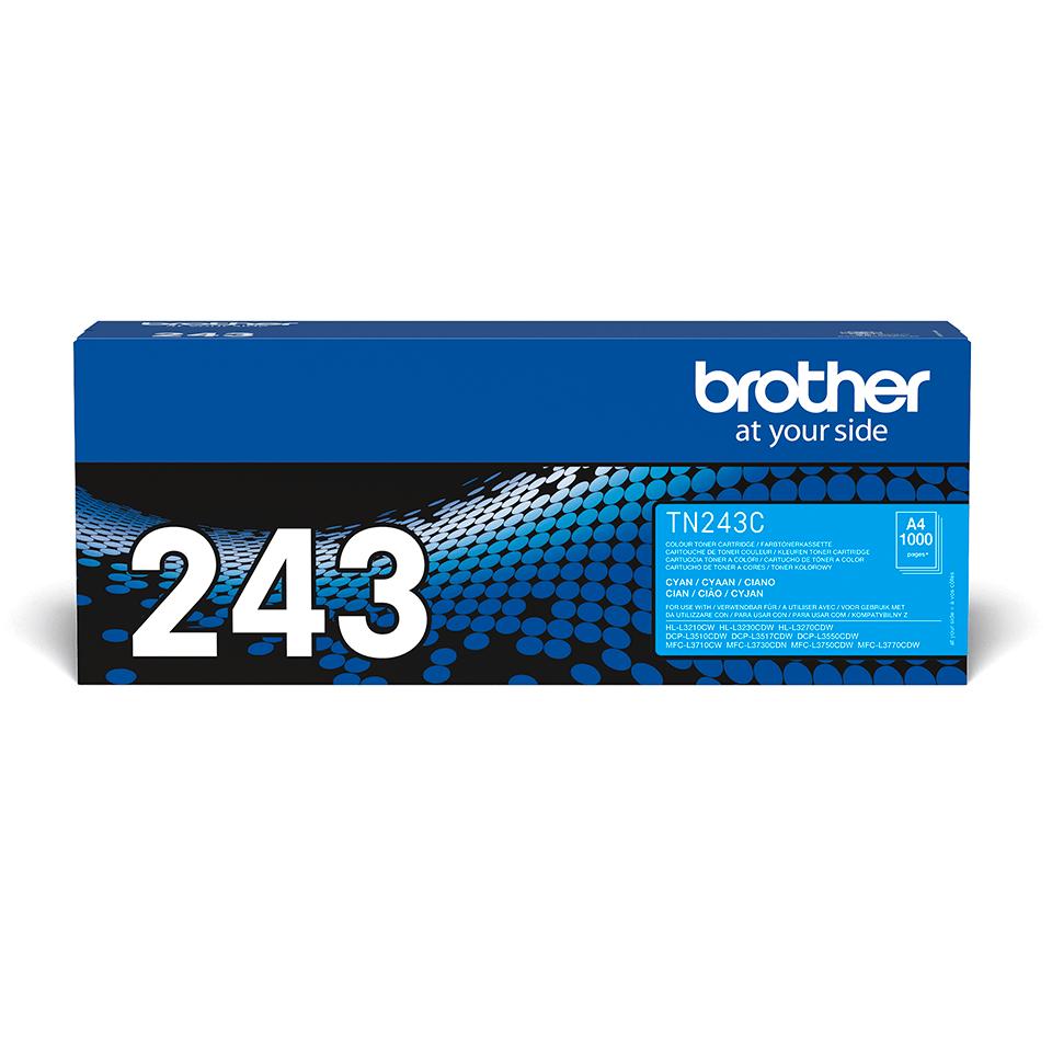 Brother TN243C  original tonerkassett - Cyan 2