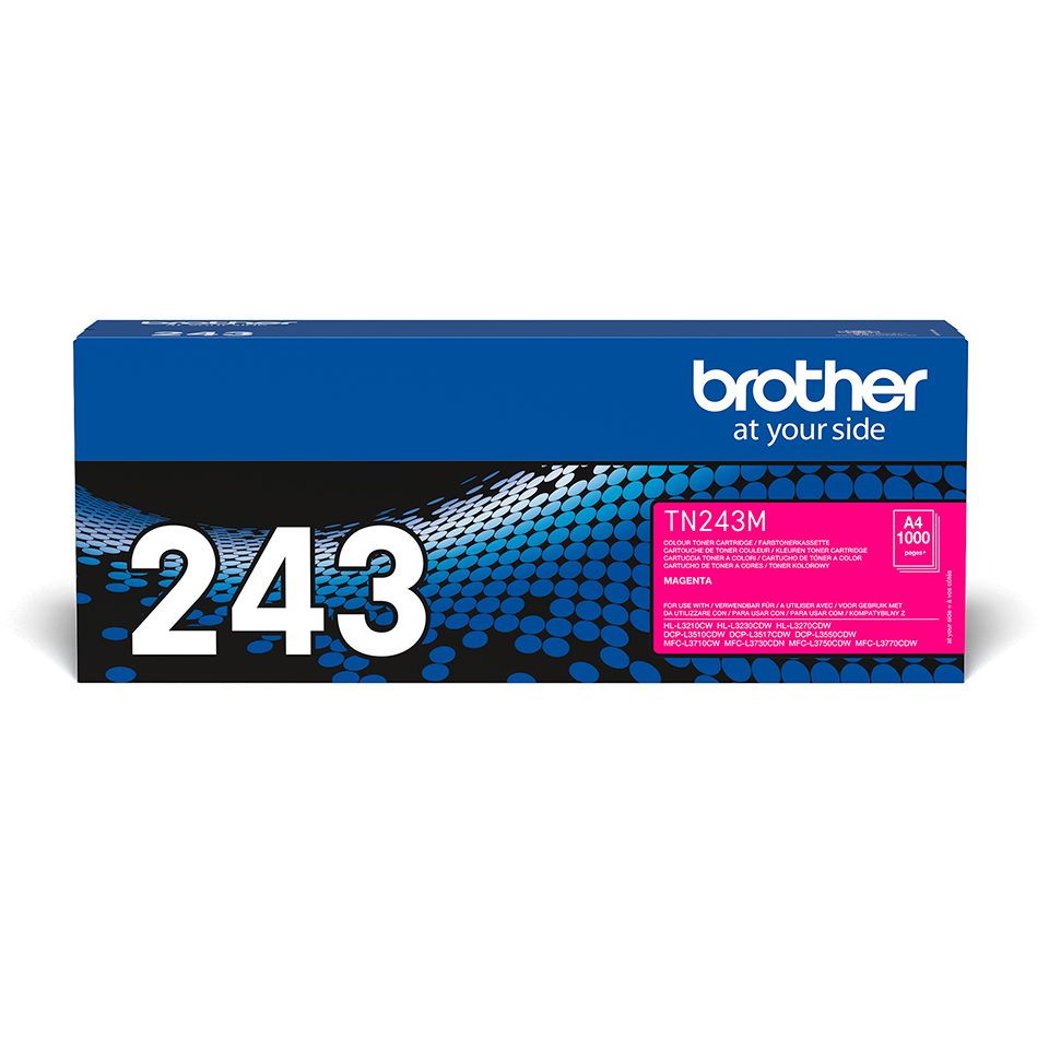 Brother  TN243M original tonerkassett - Magenta 2