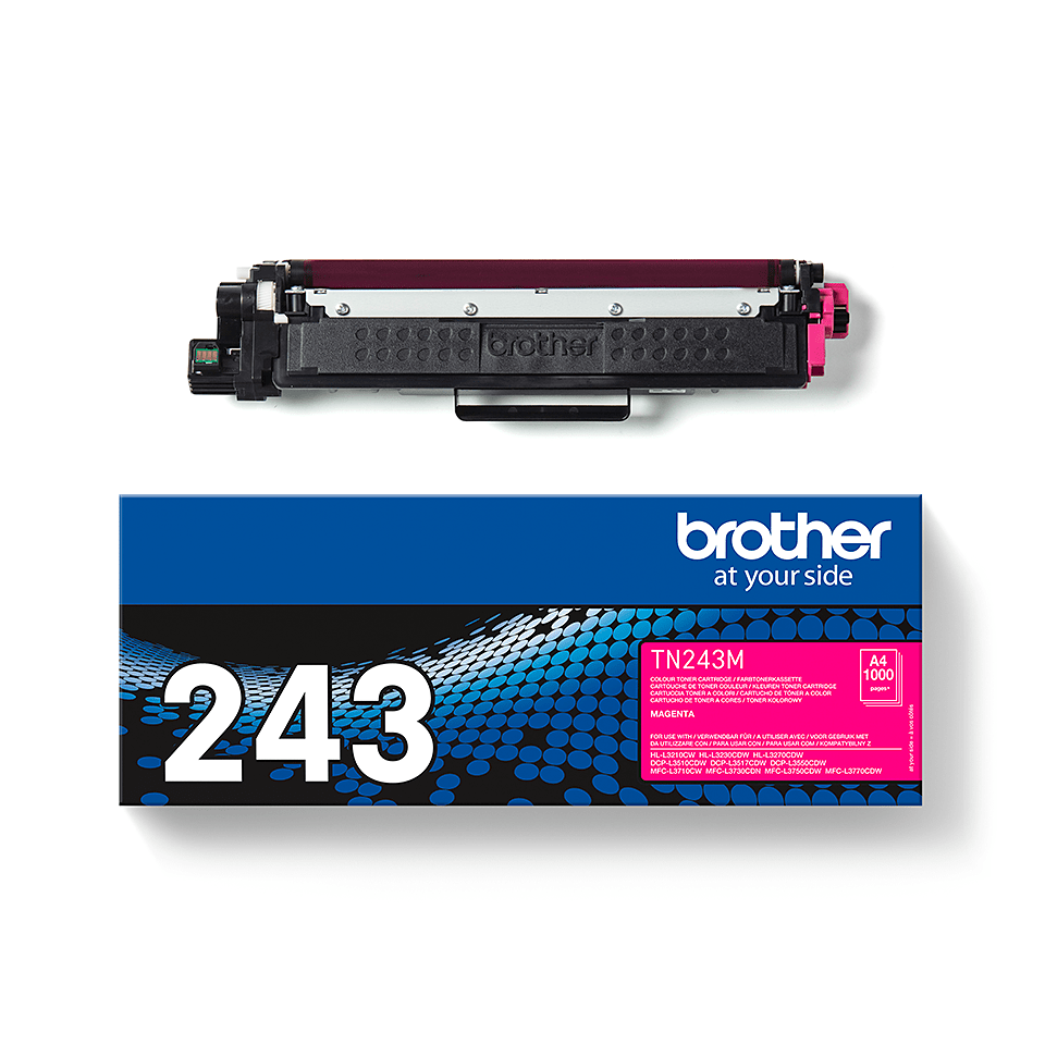 Brother  TN243M original tonerkassett - Magenta 3