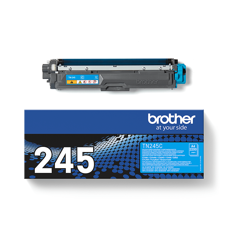 Brother TN245C  original tonerkassett – cyan  2