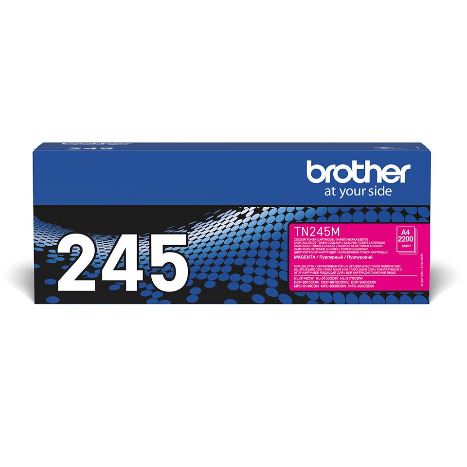 Brother TN245M original tonerkassett – Magenta