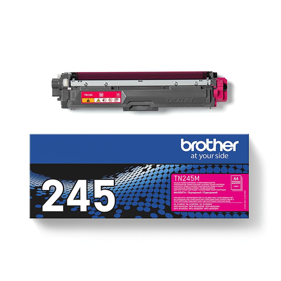 Brother TN245M original tonerkassett – Magenta 2