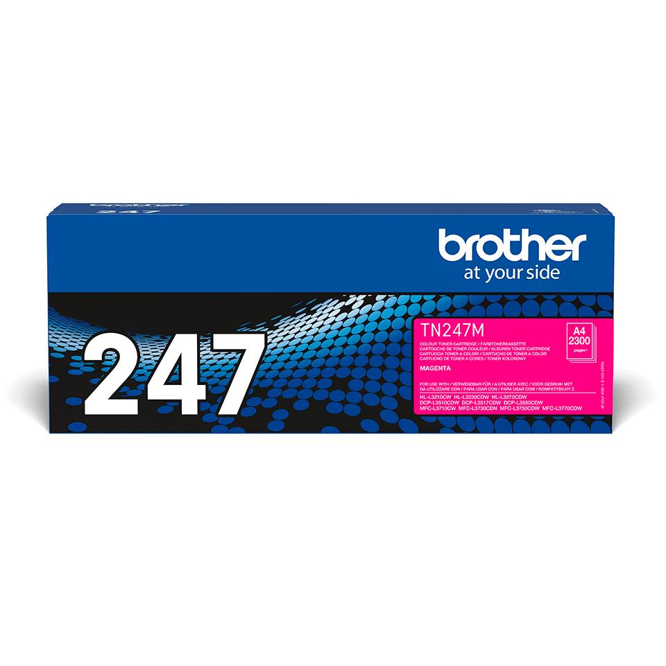 Brother TN247M original tonerkassett- magenta