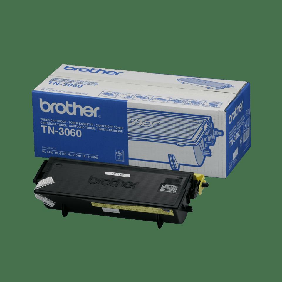 Brother TN-3060 originaltonerkassett med hög kapacitet - Svart