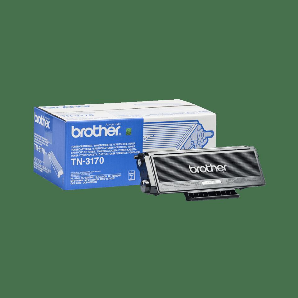 Brother TN-3170 original tonerkassett med hög kapacitet - Svart