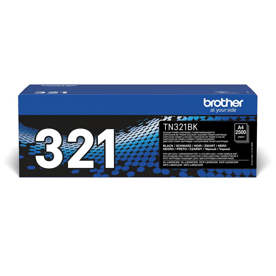 Brother TN321BK original tonerkassett – Svart