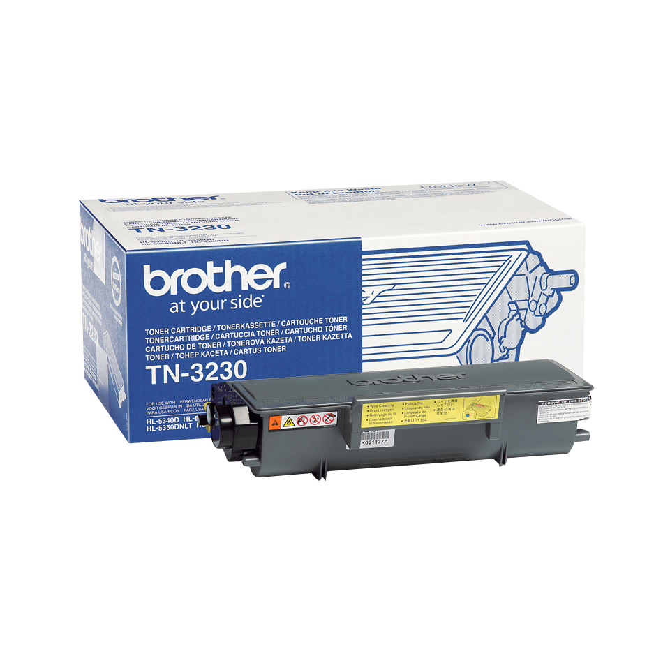 Brother TN3230 original tonerkassett- svart