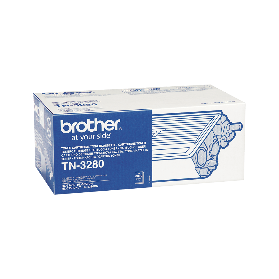 Brother TN3280 original tonerkassett hög kapacitet – svart 2