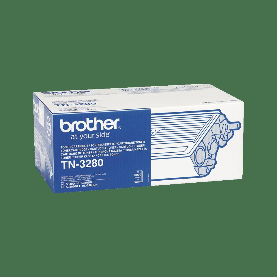 Brother TN3280 original tonerkassett hög kapacitet – svart 2