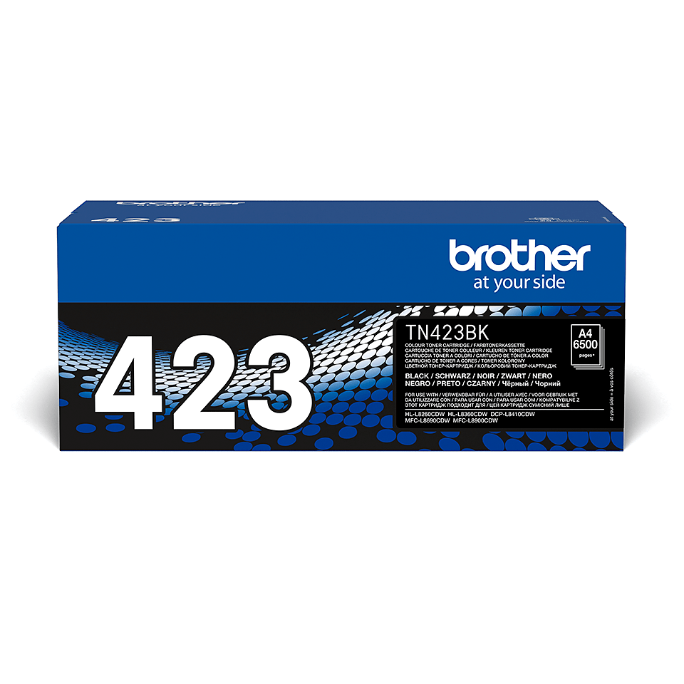 Brother original TN423BK tonerkassett – svart