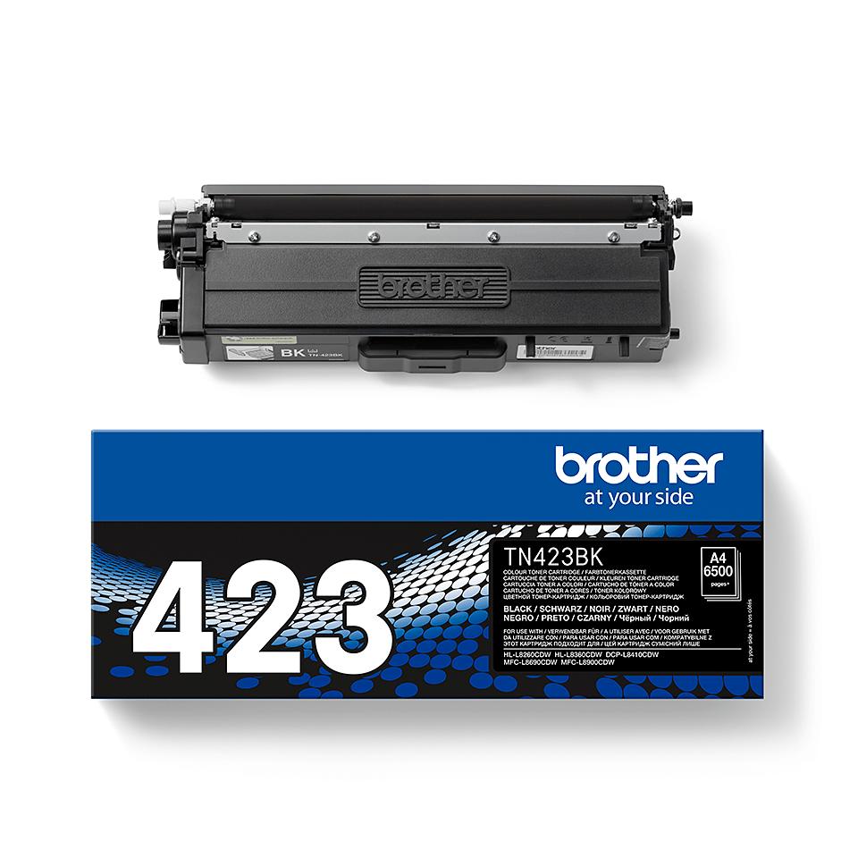 Brother original TN423BK tonerkassett – svart 2