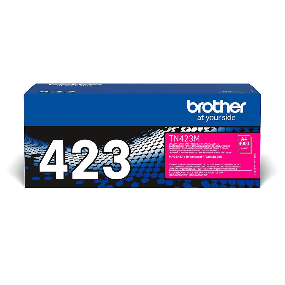 Brother original TN423M tonerkassett – magenta