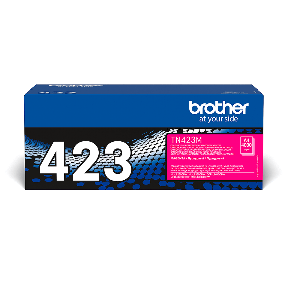 Brother original TN423M tonerkassett – magenta