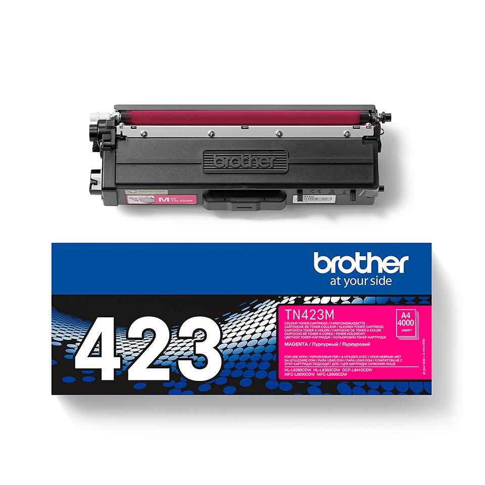 Brother original TN423M tonerkassett – magenta 2