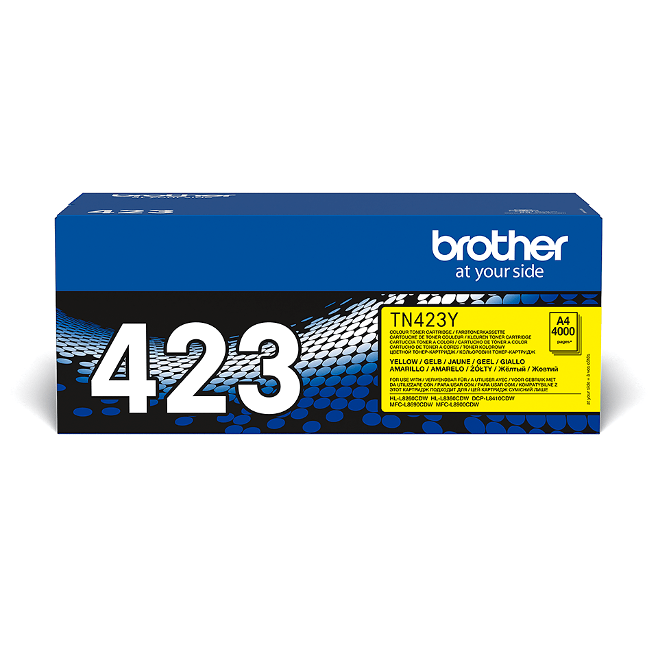 Brother TN-423Y Tonerkassett - Yellow