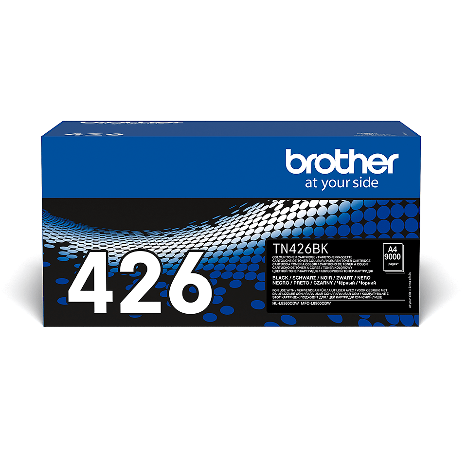 Brother original TN426BK tonerkassett – svart