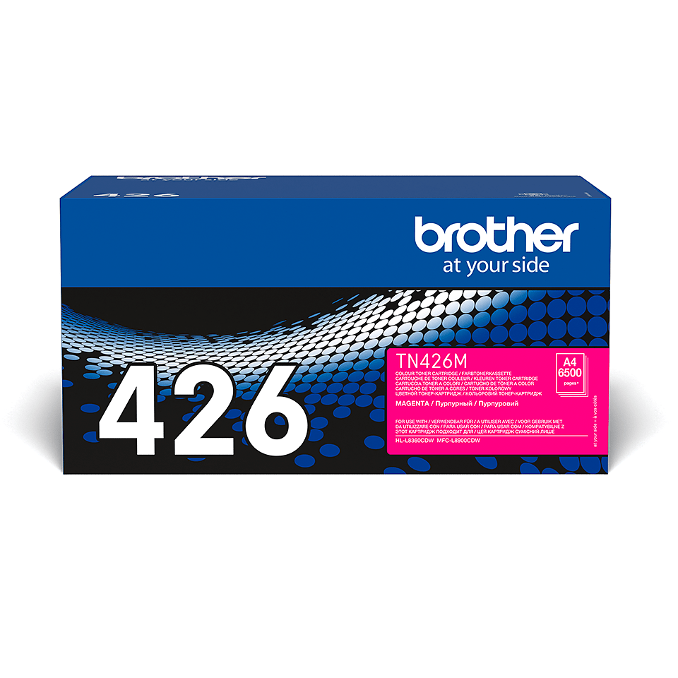 Brother original TN426M tonerkassett – magenta