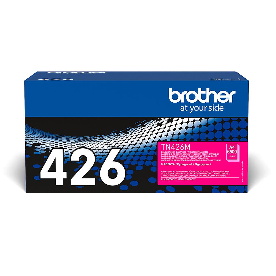 Brother original TN426M tonerkassett – magenta