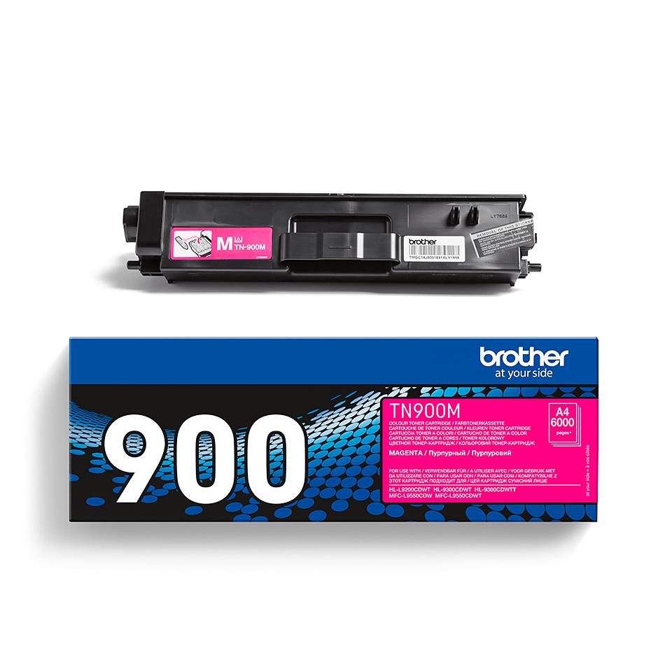 Brother original TN900M tonerkassett– magenta 2