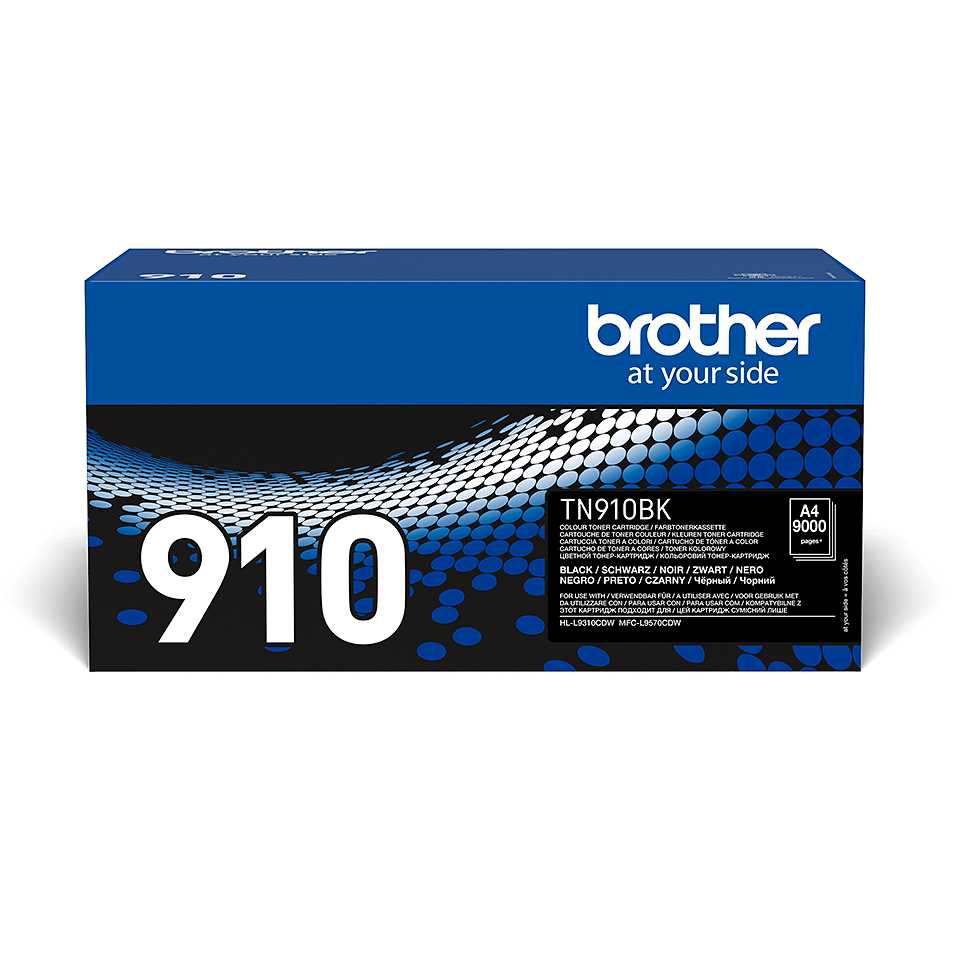 Brother TN-910BK Tonerkassett - Black