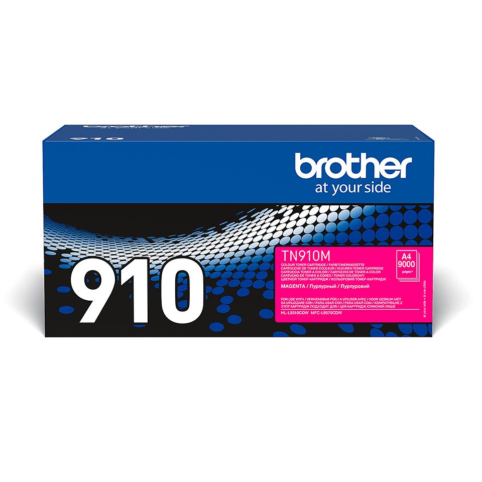 Brother original TN910M tonerkassett – magenta