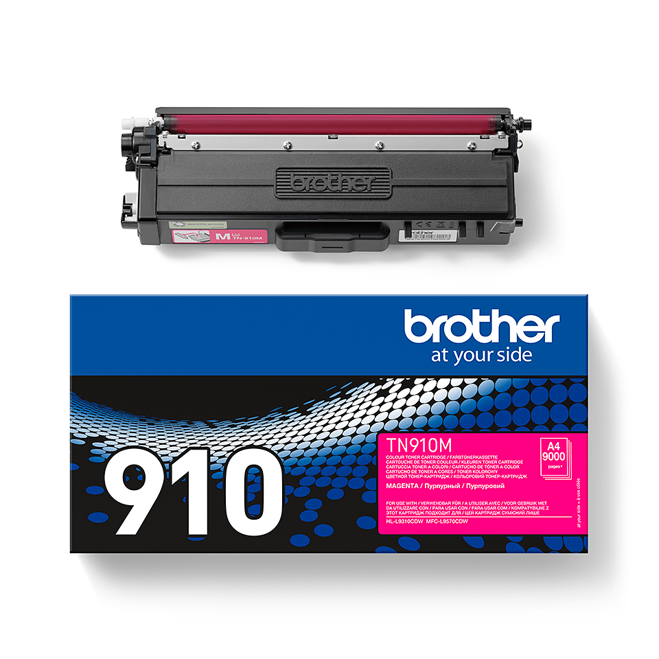 Brother original TN910M tonerkassett – magenta 2