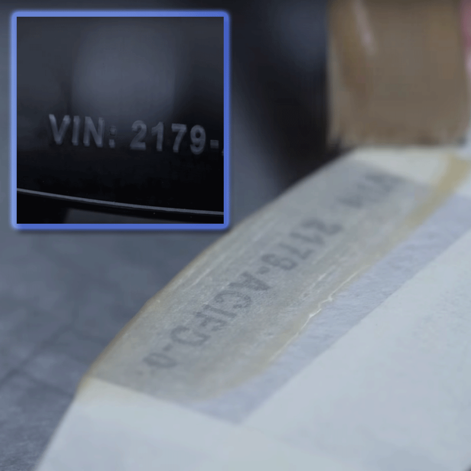 Brother STe141 original stenciltape, svart, 18 mm 2