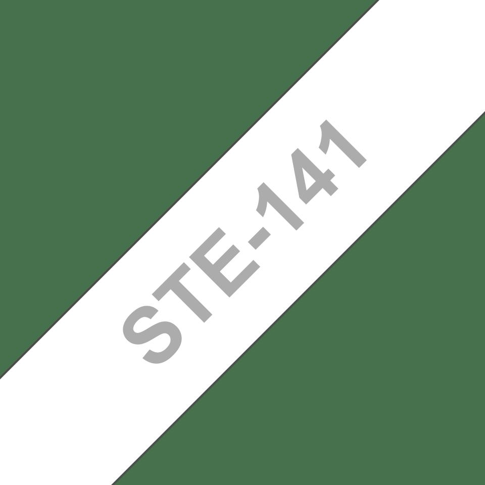 Brother STe141 original stenciltape, svart, 18 mm 3