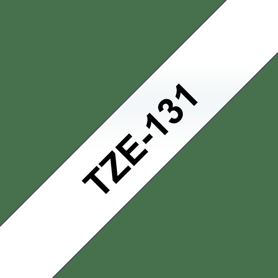 Brother TZe-131 original etikettape- svart på genomskinlig, 12 mm bred 3