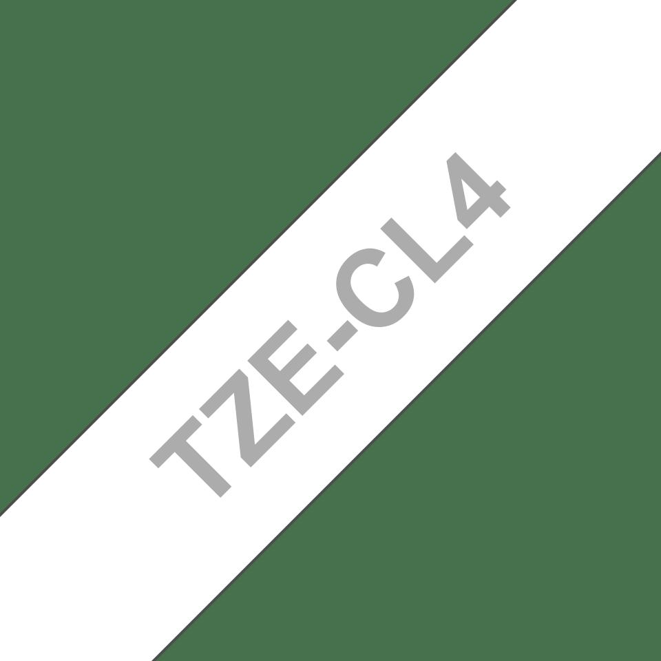 Brother TZe-CL4 rengöringstape för skrivhuvud - 18 mm bred 2
