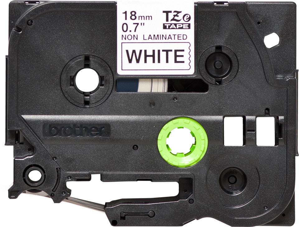 Brother TZeN241 original tapekassett, svart på vit, 18 mm