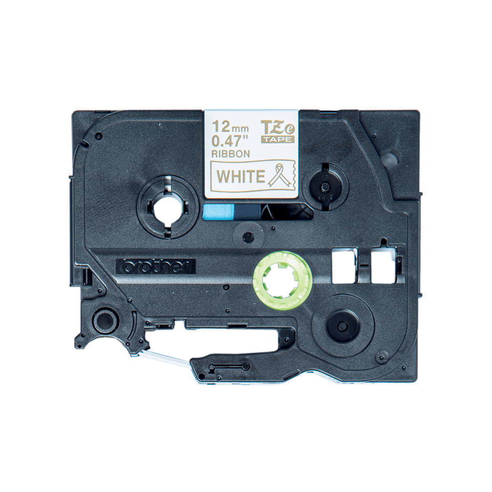 Brother TZeR234 original satinband – guld på vit, 12 mm 6