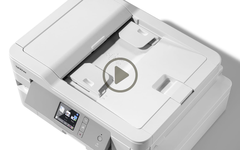 Trådlös Allt-i-ett bläckstråleskrivare MFC-J1300DW All In Box, allt i en låda 10