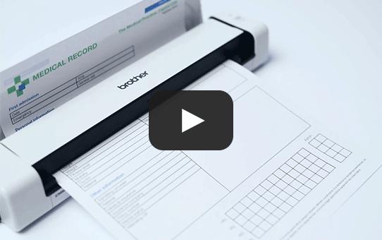 Brother DSmobile DS-740D bärbar dokumentskanner 7